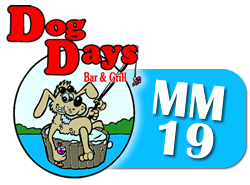 Waterfront Bar Lake of the Ozarks : Dog Days Bar & Grill : Lakefront Restaurant Lake Ozarks